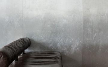 Grey Wall & Brown Sofa (IG)