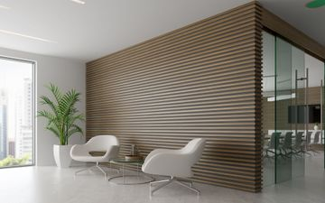 Large Wood Wall
