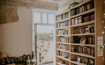 Antique Chairs & Bookcase