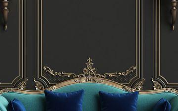 Teal Velvet Sofa (IG)