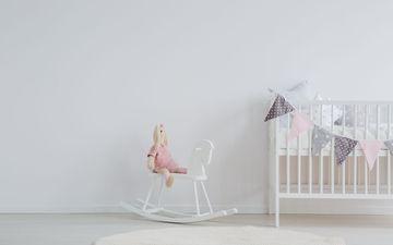 Crib & Rocking Horse